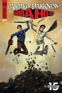 Army Darkness Bubba Ho-Tep #3, Dynamite Entertainment