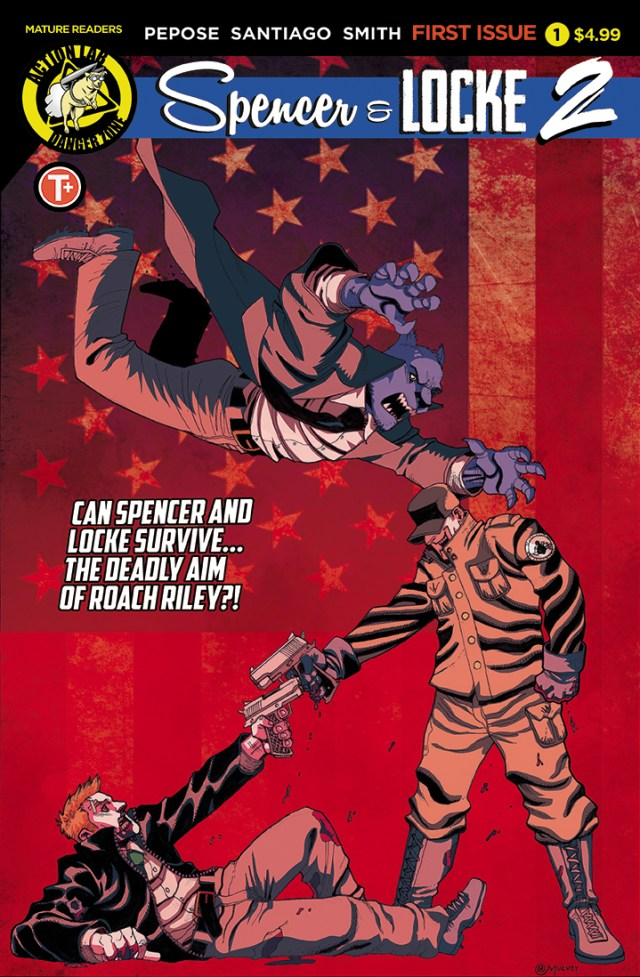 David Pepose, Spencer & Locke 2 #1