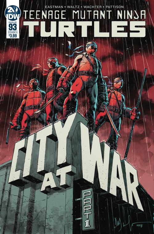 Teenage Mutant Ninja Turtles #93, IDW Publishing