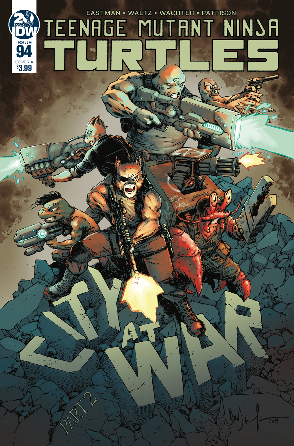Teenage Mutant Ninja Turtles #94, IDW Publishing