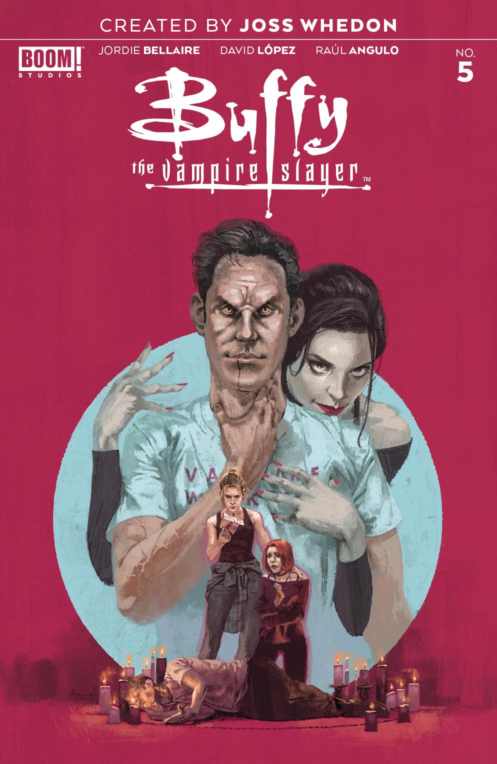 Buffy Vampire Slayer #5, BOOM! Studios