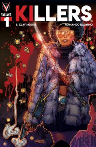 Fernando Dagnino, Killers #1, Valiant Entertainment