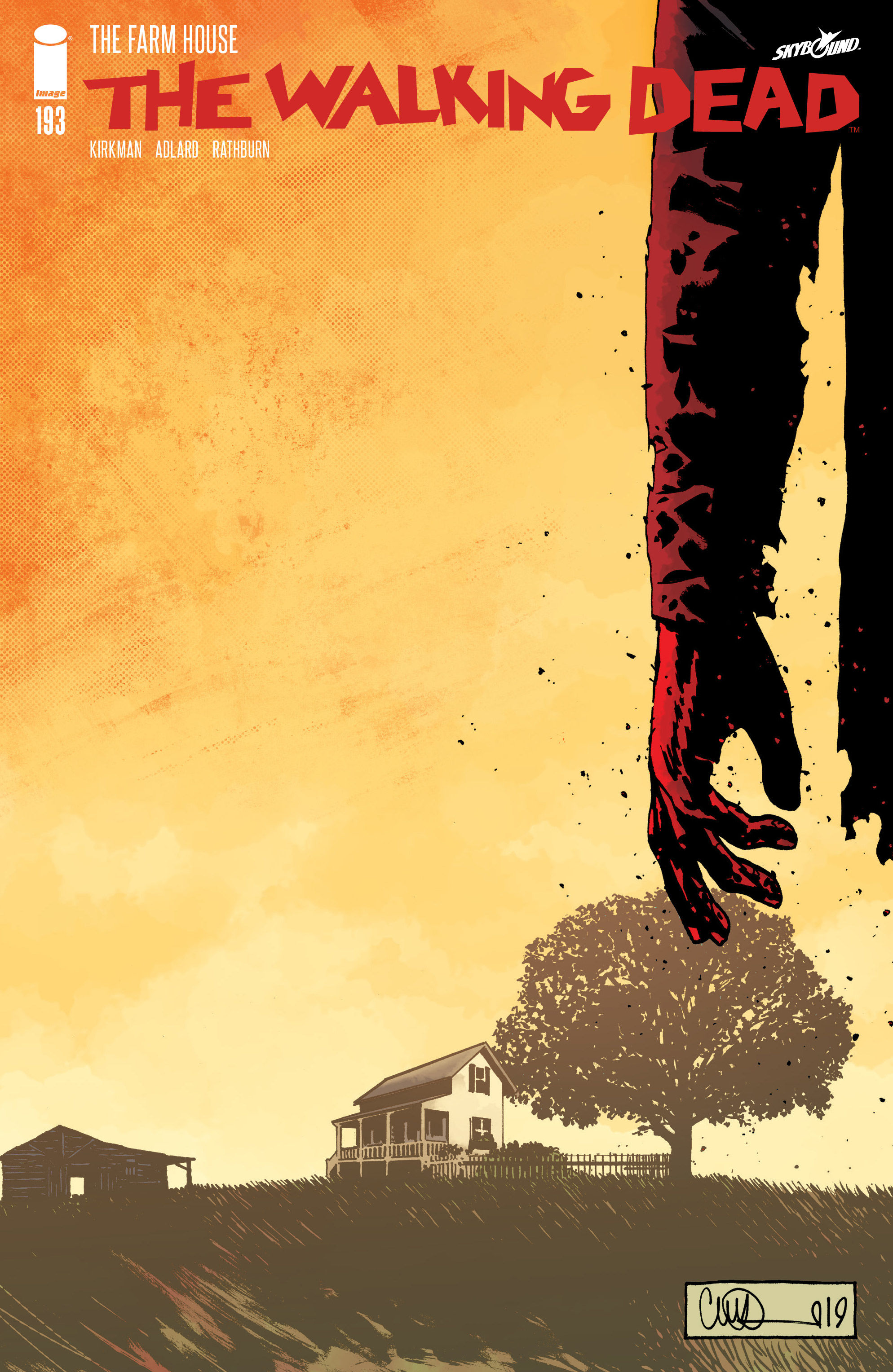 Walking Dead #193, Image Comics