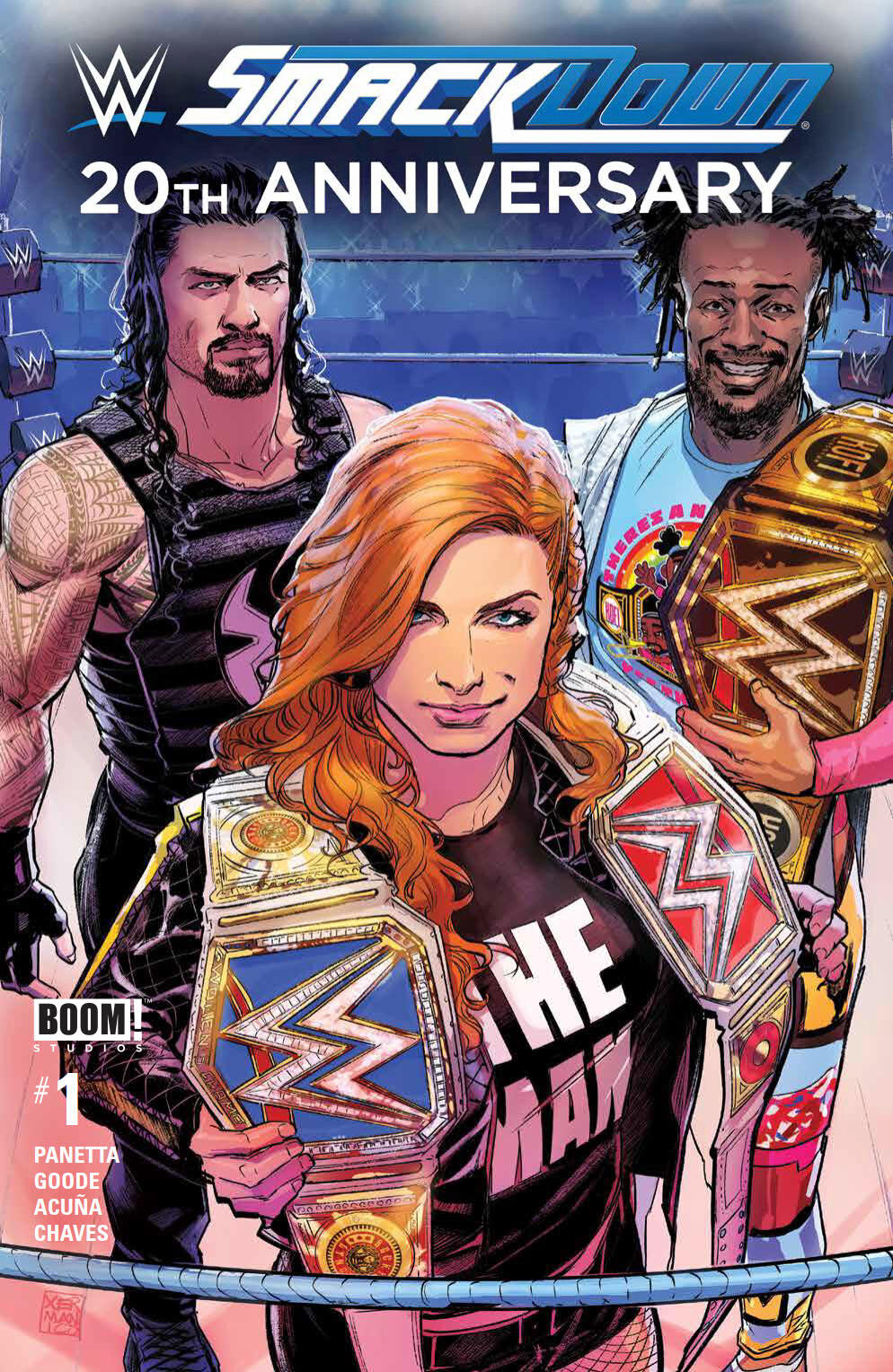 WWE Smackdown Live Special #1, BOOM