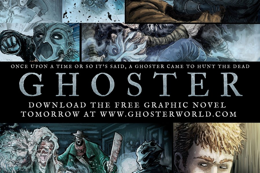 5 Reasons To Get 'Ghoster' [FREE Comic]!