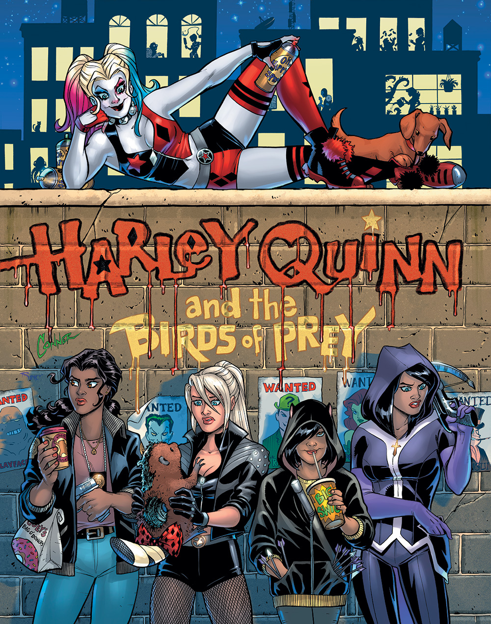Harley Quinn Birds Prey, NYCC