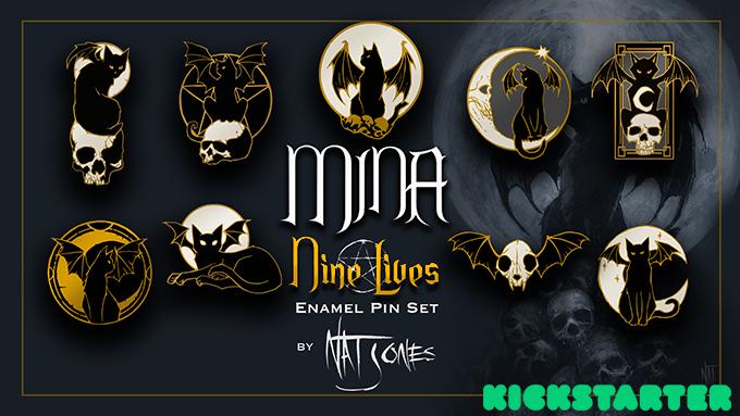 Mina the Bat Cat, Mina