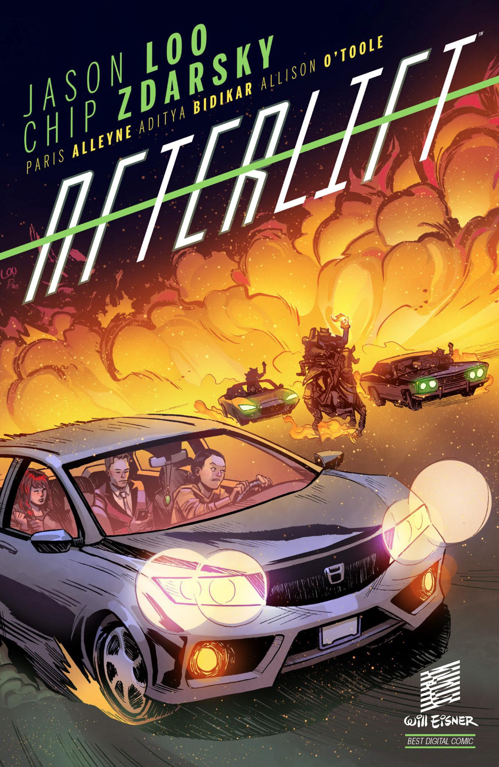 Afterlift, Afterlift cover
