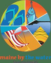 maine vacation rental logo design