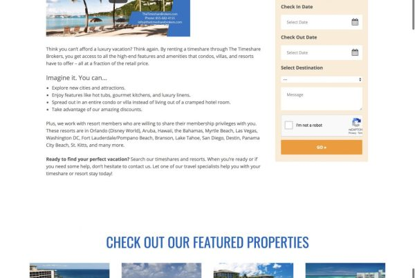 Vacation Rental Agency
