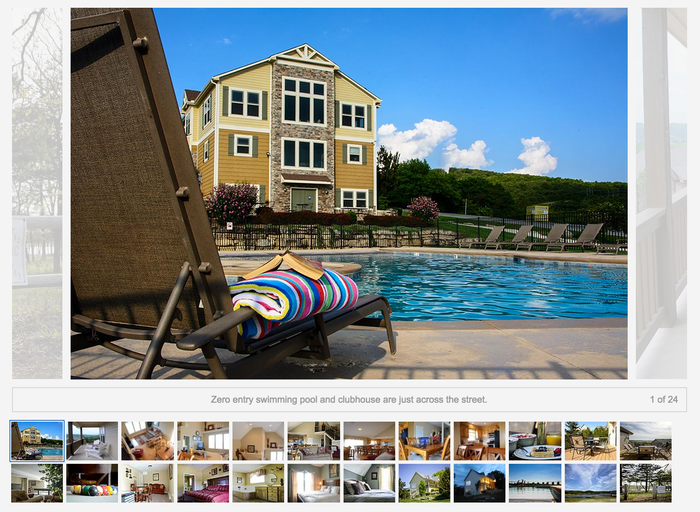 order of photos for vacation rental homes photography tips