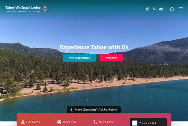 Vacation Rentals on Lake Tahoe