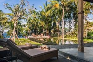 Uitzicht Villa Melaya Bali