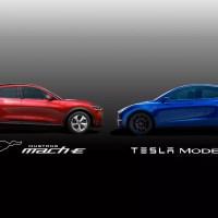 Ford Mustang Mach E vs. Tesla Model Y