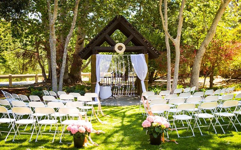 Santiago Oaks Regional Park Weddings