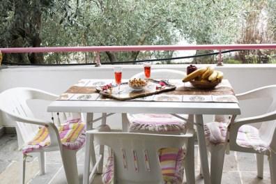 Терраса на 1 этаже, Вилла Релакс, о-в Тасос, Греция
