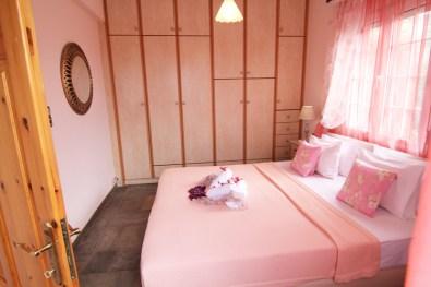 Просторная спальня на 2 этаже, Вилла Релакс, Тасос