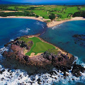 Villa Estrella is located near a number of world-class golf courses, such as the golf course at Punta Mita Golf Club shown here.