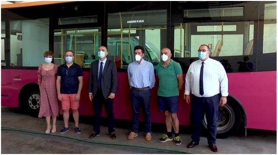 Servicio de autobuses urbanos