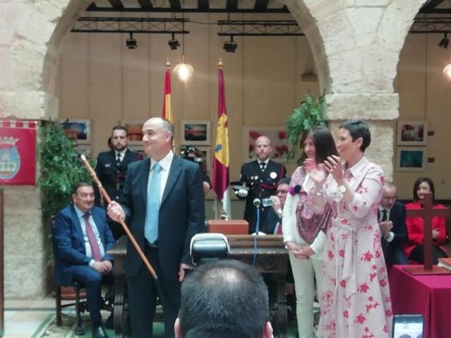Valentín Bueno investido alcalde de Villarrobledo