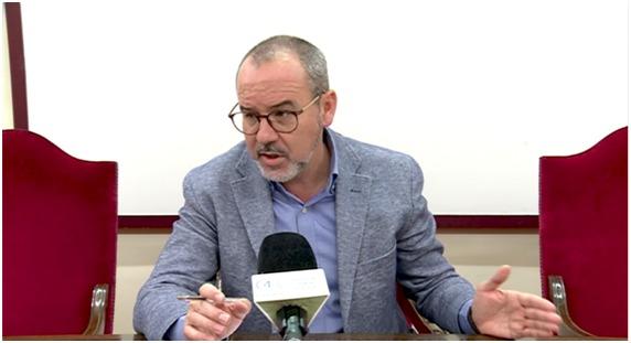 Alberto González, alcalde de Villarrobledo
