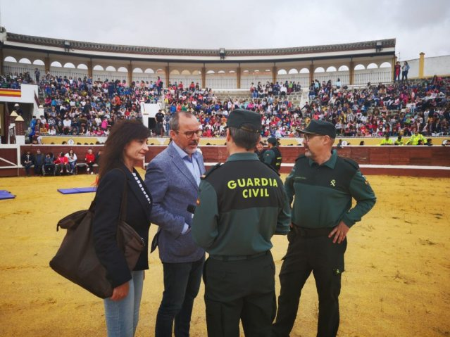 Exhibición de la Guardia Civil