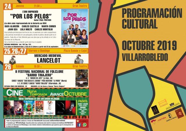 programacion cultural octubre 2019