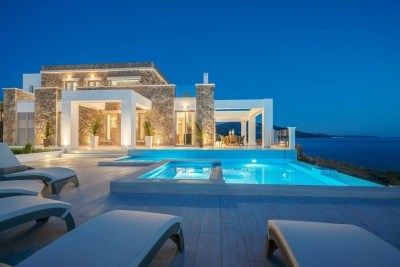 Tambouros, Boutique Villa, Vasilikos, Zante, Greece, Ionian sea, private pool, sunbeds