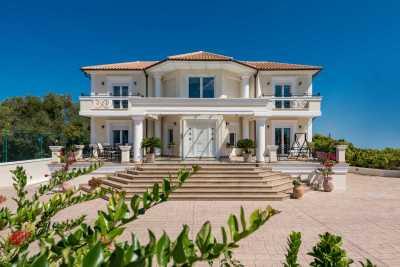Frido, Luxury Villa Akrotiri, Zakynthos, Greece, main entrance