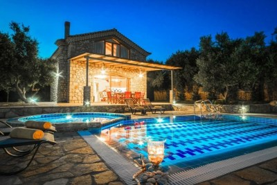 Tireda, Villa Keri Lake, Zakynthos, Greece, swimming pool, garden