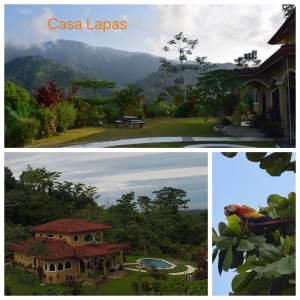 Casa Lapas Villa costa rica collage