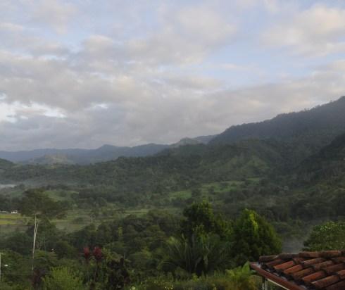 Mountain views in villas san buenas