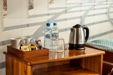 Pokój morski - Herbata, woda i czajnik