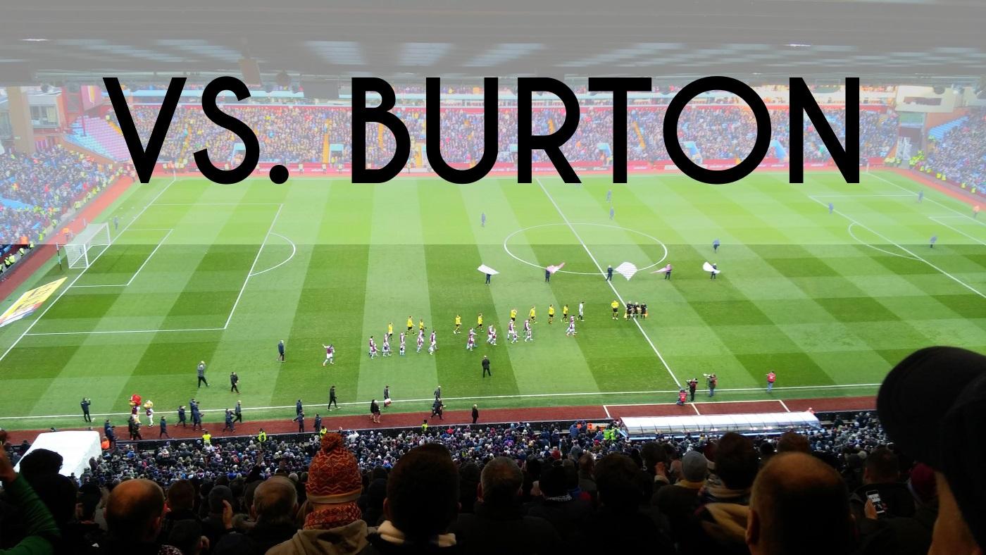 aston villa burton albion ratings