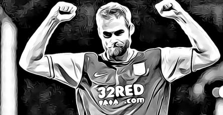 Olof Mellberg Aston Villa Birmingham City