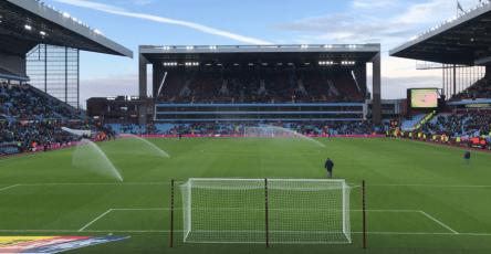 The Holte End - Aston Villa Millwalll 9.12.2017 Pre-Match