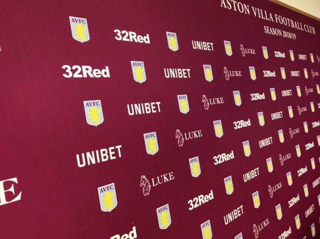 Aston Villa Press Conference Bodymoor Heath