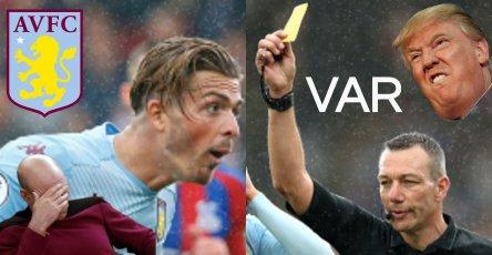 Aston Villa Podcast Crystal Palace VAR Kevin Friend