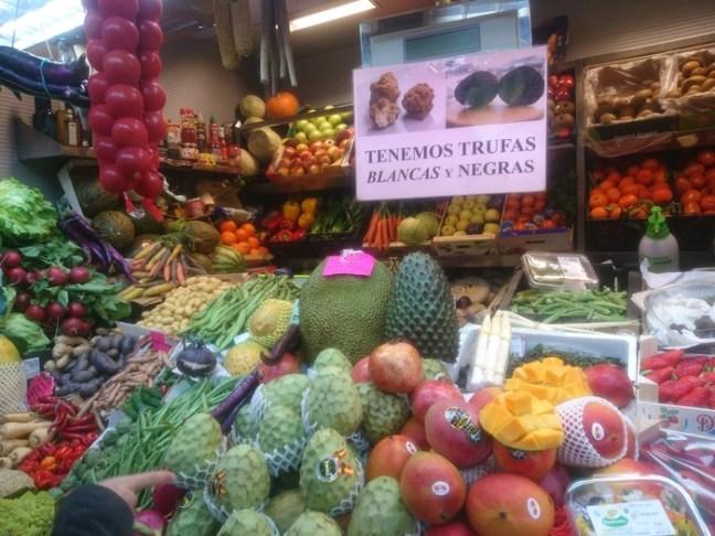 Frukt i spansk saluhall