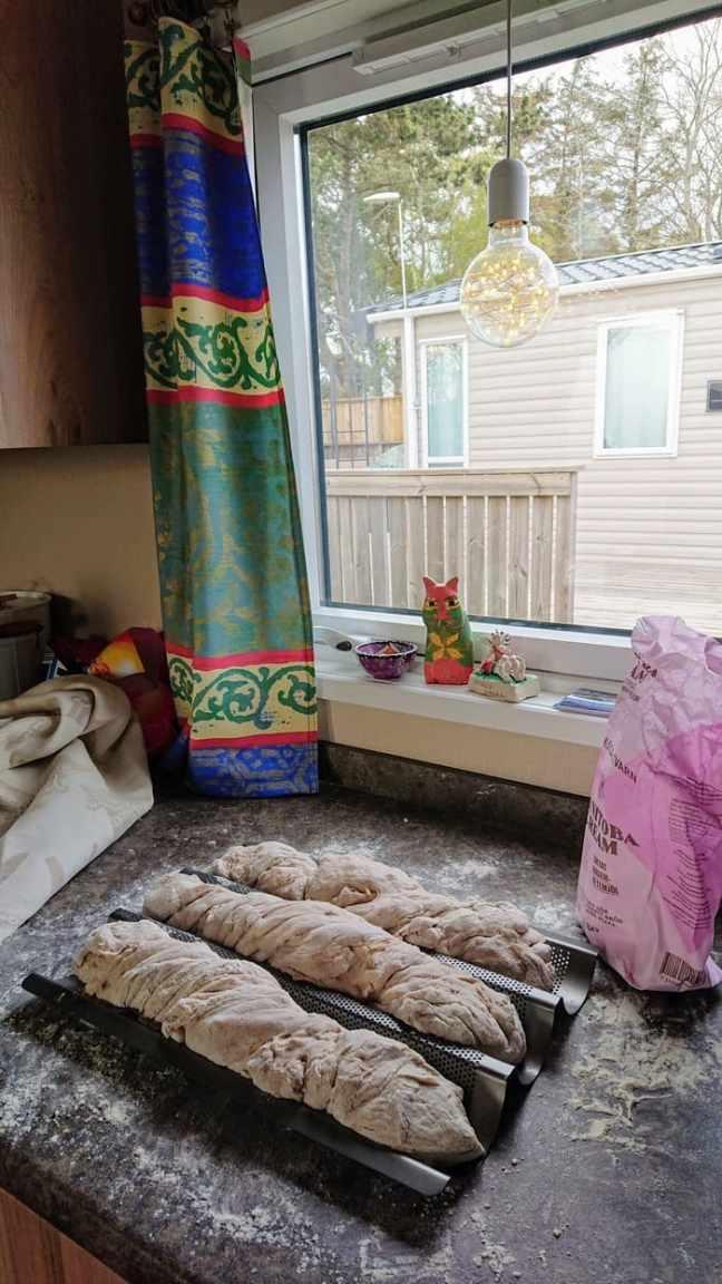 Bröd på jäsning