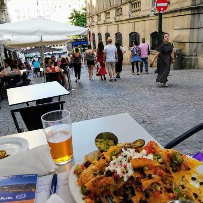 Nachos i Porto