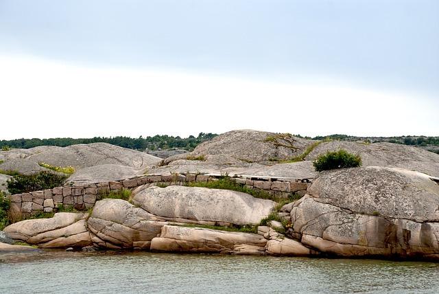 klippor i skärgården