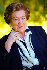 Mme A-M Natali, Maire de la Ville de Borgo