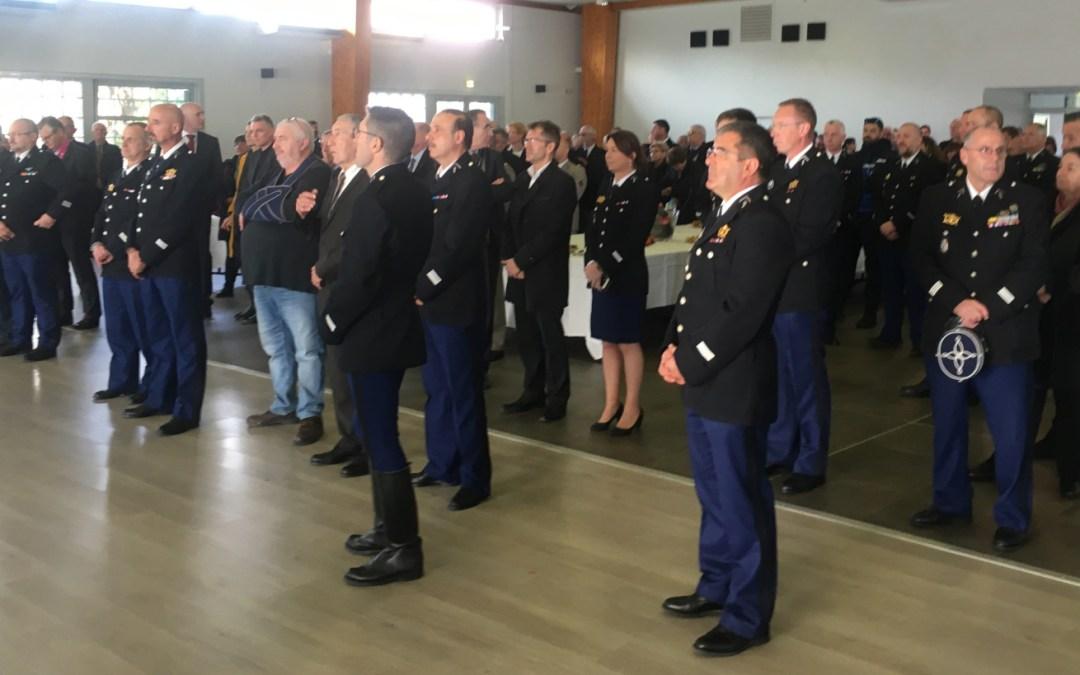 Les gendarmes ont fêté la Sainte-Geneviève à Borgo