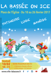 La Bassée on ice 2017 - Affiche