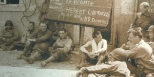 Cérémonie pour commémorer la libération de Saint-Sauveur-Le-Vicomte