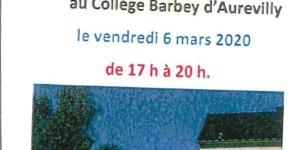 Portes-ouvertes au Collège Barbey d'Aurévilly