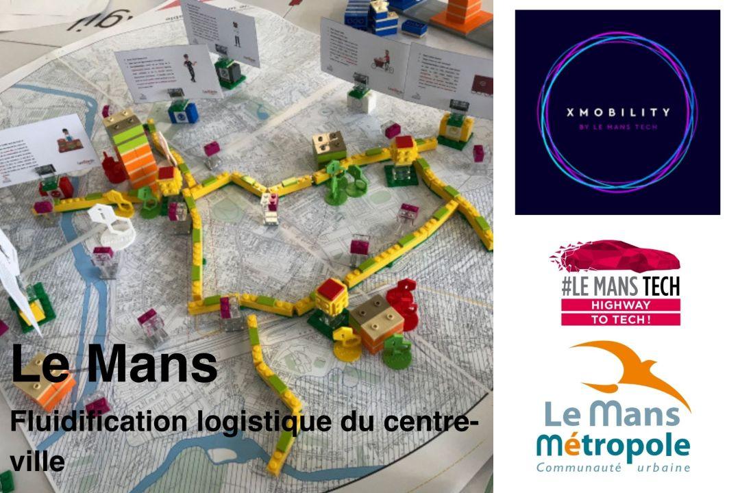 Xmobility Le Mans – Fluidification logistique du centre-ville