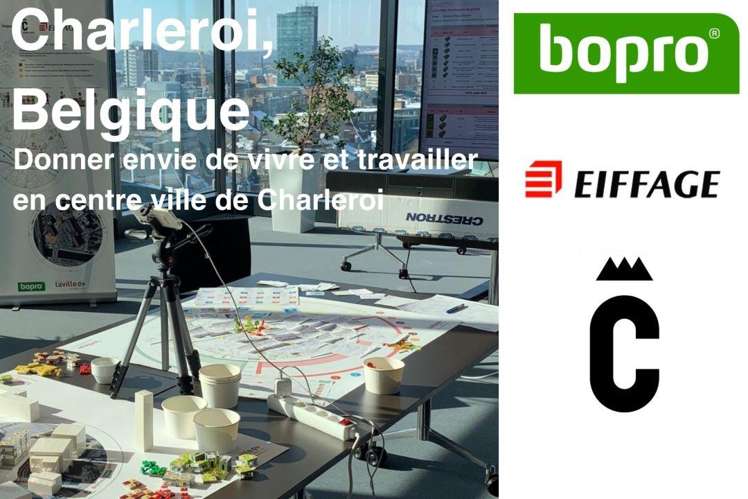 Charleroi, Belgique – Bopro et Eiffage développement
