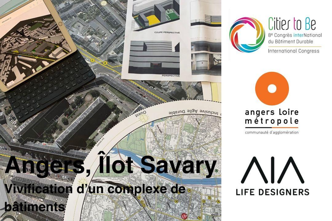 Angers, Îlot Savary – Restructuration et revitalisation d'un ilôt urbain